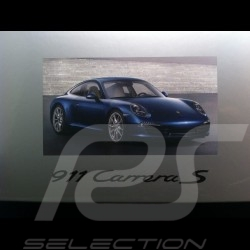 Porsche 911 type 991 Carrera S blue 1/18 Minichamps WAP0210200C