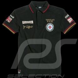 Herren Polo-shirt Jo Siffert n° 14 schwarz