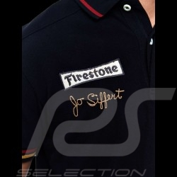 Men's Polo shirt Jo Siffert n° 14 black