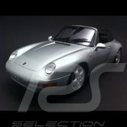 Porsche 993 Carrera Cabriolet 1993 grau 1/18 NOREV 187592