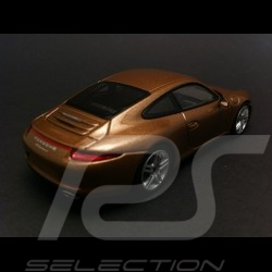 Porsche 911 type 991 Carrera 4 2012 cognac 1/43 Minichamps WAP0201090C