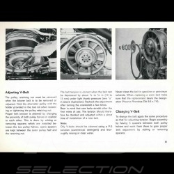 Reproduktion Broschüre Porsche 911 S 1972