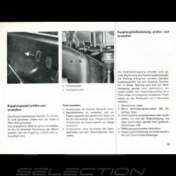 Reproduction Brochure Porsche 912 1966
