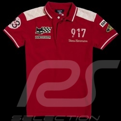 Men's Polo Herrmann 917 n° 23 red