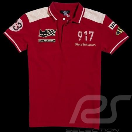 Men's Polo Herrmann 917 n° 23 red