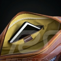 911 Classic Grossen Reisetasche Schwarz Leder