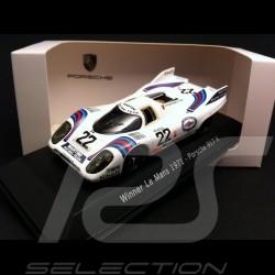 Porsche 917 K Sieger Le Mans 1971 n° 22 Martini 1/43 Spark MAP02027113