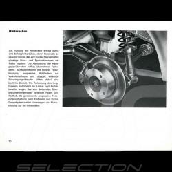 Reproduktion Broschüre Porsche 914 1972