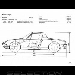 Reproduction Brochure Porsche 914 1972