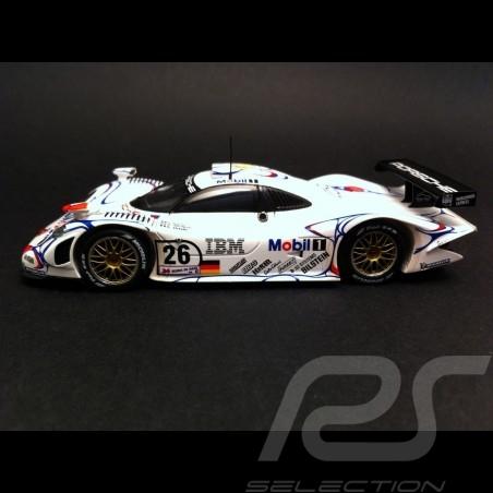 Porsche 911 GT1 Vainqueur winner Sieger Le Mans 1998 n° 26 1/43 Spark MAP02029813