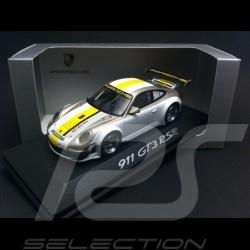 Porsche 997 GT3 RSR 2012 blanche / grise 1/43 Minichamps WAP0200170C