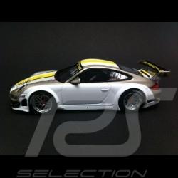 Porsche 997 GT3 RSR 2012 white / grey 1/43 Minichamps WAP0200170C