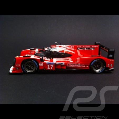 Porsche 919 Hybrid Le Mans 2015 n° 17 1/43 Spark MAP02087815