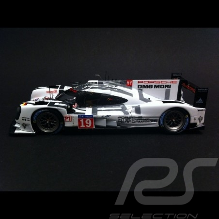 Porsche 919 Hybrid Vainqueur Winner Sieger Le Mans 2015 n° 19 1/43 Spark MAP02031515