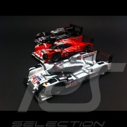 Trio Porsche 919 Hybrid Le Mans 2015 n° 19 / 17 / 18 1/43 Spark