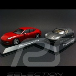 Duo Porsche Panamera Sport Turbo et Atmospherique 1/43 Minichamps WAP0200230C WAP0200250C