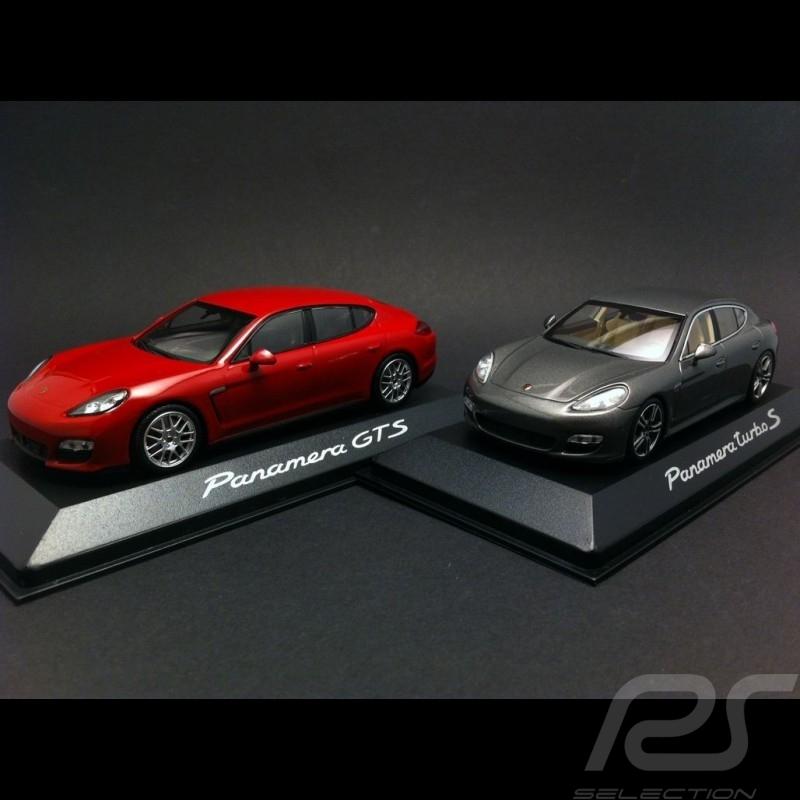 Duo Porsche Panamera Sport Turbo et Atmospherique 1/43 Minichamps WAP0200230C WAP0200250C