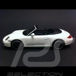 Porsche 997 Carrera GTS Cabriolet 2011 weiß 1/43 Minichamps WAP0200210B