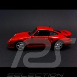 Porsche 993 Turbo S 1998 rouge indien 1/43 Minichamps CA04316001