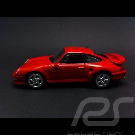 Porsche 993 Turbo S 1998 indischrot 1/43 Minichamps CA04316001
