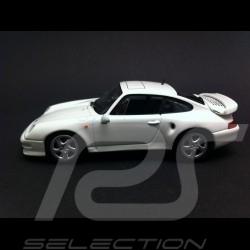 Porsche 993 Turbo S 1998 blanche 1/43 Minichamps CA04316003