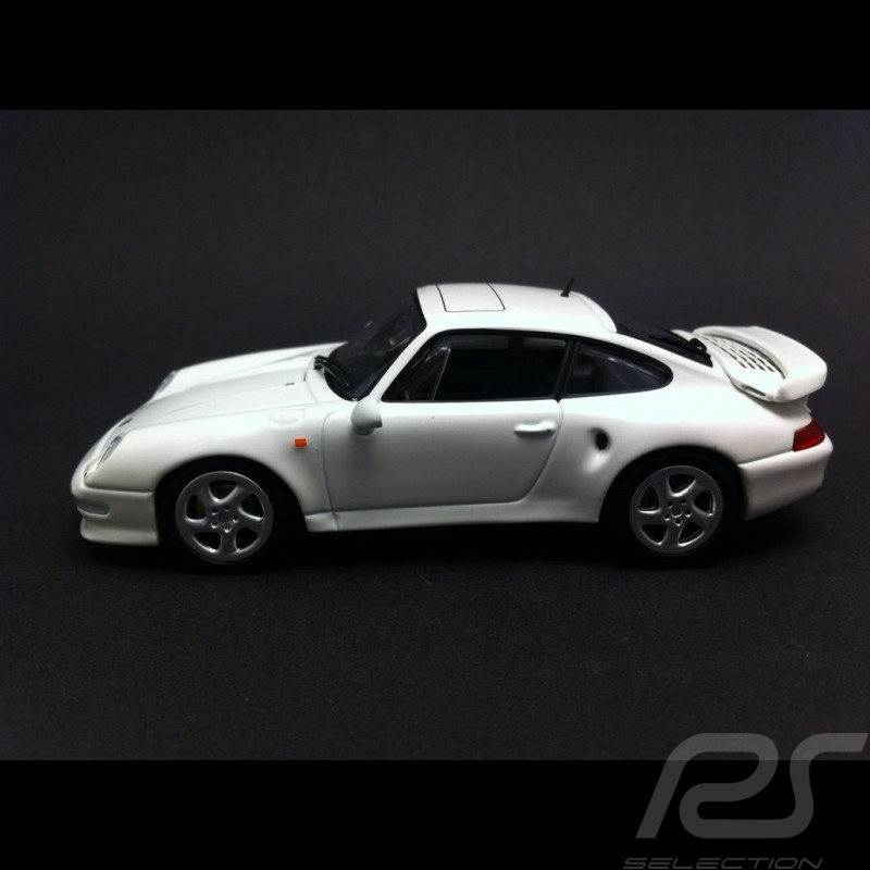 porsche 993 turbo s 1998 white 1 43 minichamps ca04316001 selection rs. Black Bedroom Furniture Sets. Home Design Ideas