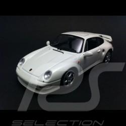 Porsche 993 Turbo S 1998 weiß 1/43 Minichamps CA04316001