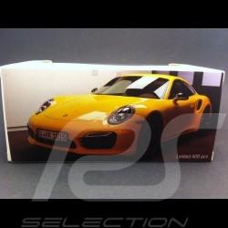 Porsche 991 Turbo S 2016 exclusive racing gelb 1/43 Spark MAP02020216