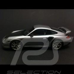Porsche 997 GT2 RS grise-noire 1/43 Minichamps WAP0200070B