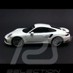 Porsche 911 type 991 Turbo S 2016 blanc 1/43 Herpa WAP0201360G