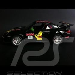 Porsche 997 GT3 RS Haribo noir / vert radiocommandée 27MHz 1/14