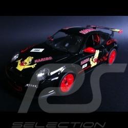 Porsche 997 GT3 RS Haribo schwarz / rot RC-Fahrzeug 27MHz 1/14