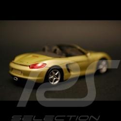 Porsche Boxster 981 2012 gold 1/43 Spark WAP0202000C