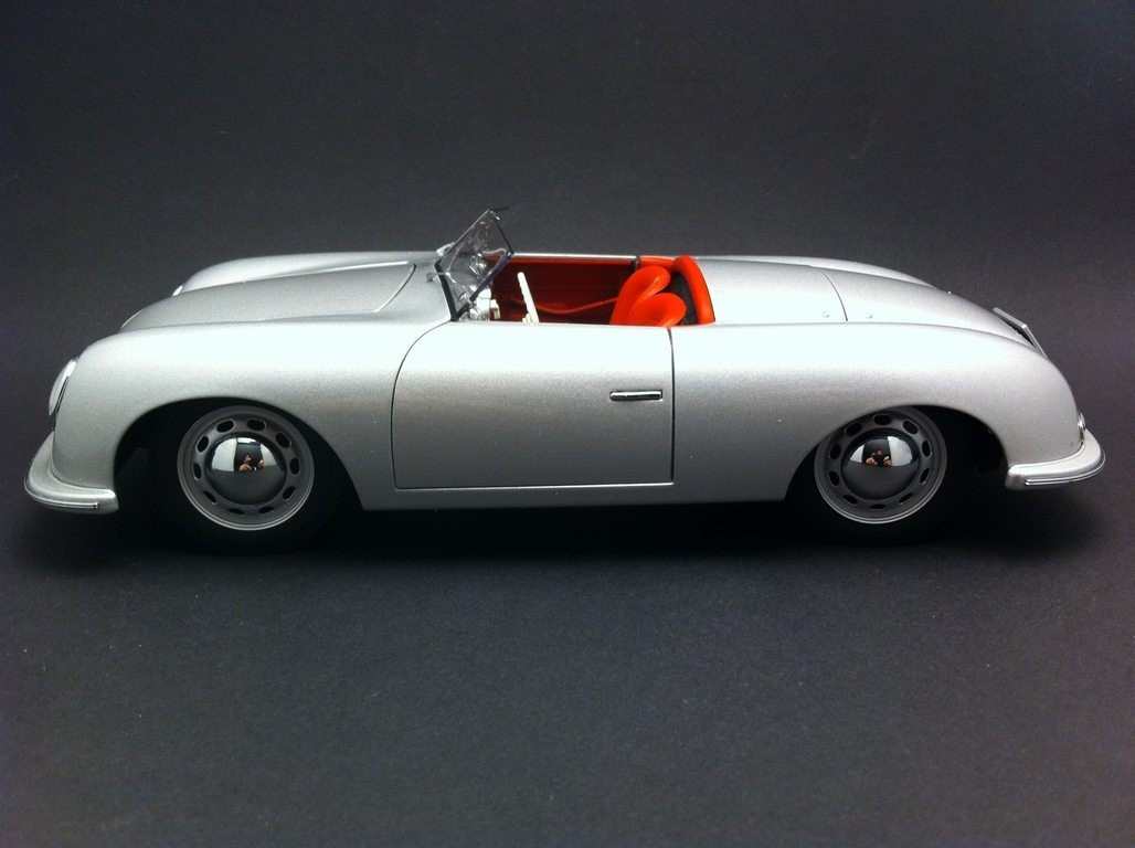 Porsche 356 n 1 1948 silver 118 autoart map02100108 selection rs vanachro Choice Image