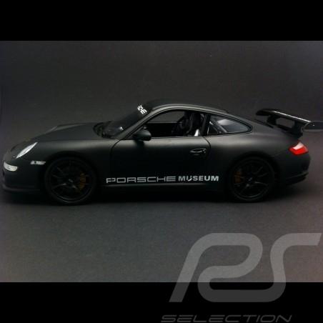 Porsche 997 GT3 RS matt schwarz 1/18 Welly MAP02103108