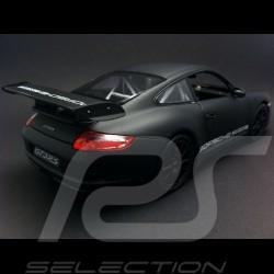 Porsche 997 GT3 RS matte black 1/18 Welly MAP02103108