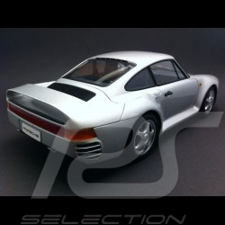 Porsche 959 1986 grau 1/18 Autoart 78081