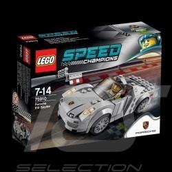 Porsche 918 Spyder gris Lego 75910