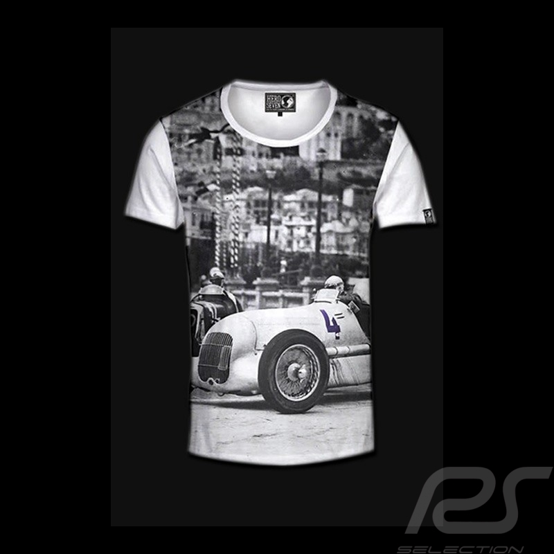 Men's T-shirt Monaco Grand Prix white