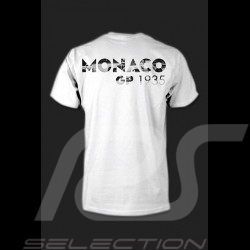 T-Shirt Herren Monaco Grand Prix weiß