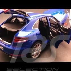 Porsche Macan Turbo bleu 1/18 Minichamps WAP0211540E