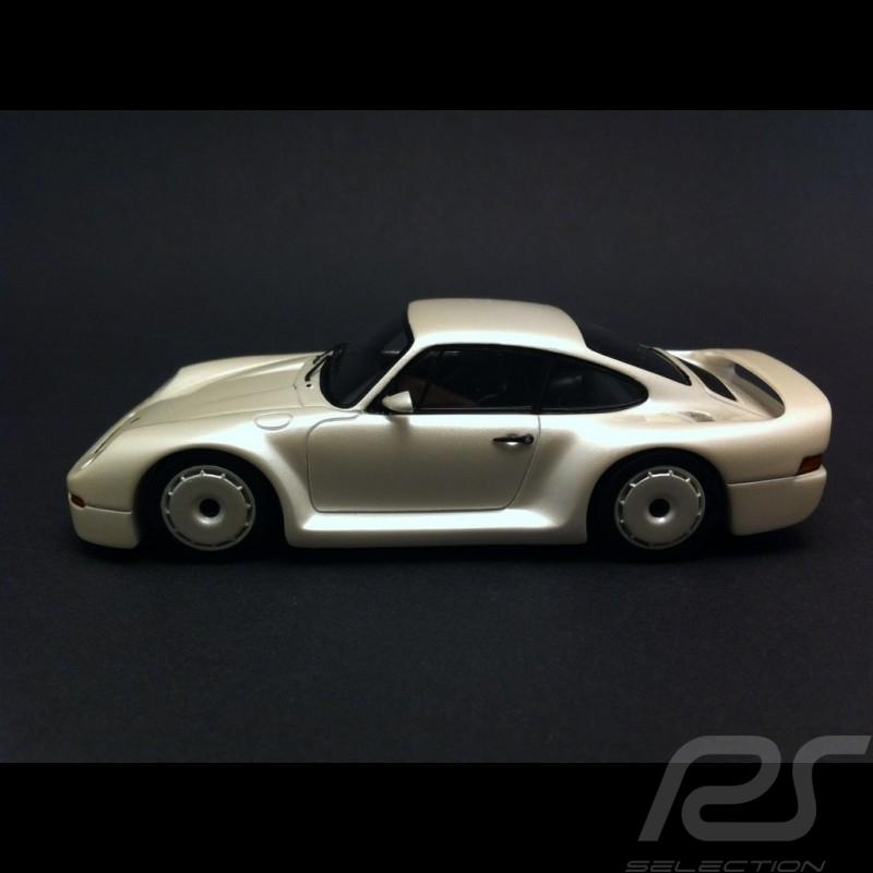 Porsche 959 Prototype 1983 white 1/43 Spark MAP02004715