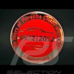 """Badge de grille 911 """"60 ans Porsche Club"""" Grille Badge"""
