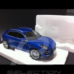 Porsche Macan Turbo 2014 blau 1/18 Minichamps WAP0211540E