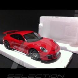 Porsche 991 GT3 2014 rot 1/18 Minichamps WAP0210370E