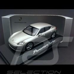 Porsche Panamera Turbo argent 1/43 Minichamps WAP02000519