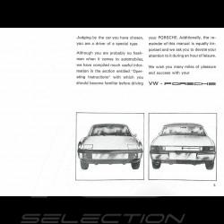 Reproduction Brochure Porsche 914 /6 1971