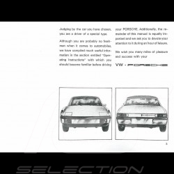 Reproduction Brochure Porsche 914 /6 1971