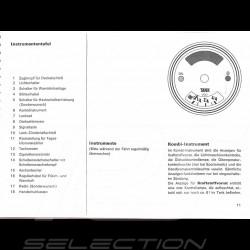 Reproduktion Broschüre Porsche 914 1971