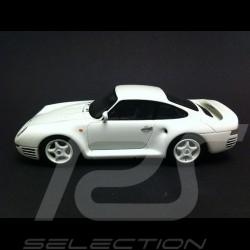 Porsche 959 Sport 1986 blanc 1/43 Spark S4478
